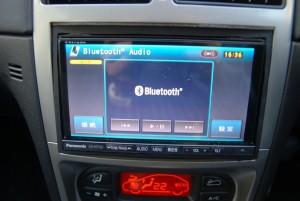 パナソニック ストラーダ HDDナビ iphone bluetooth対応