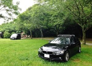 BMW320dツーリングでキャンプへ