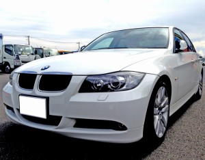 E90 BMW320i 前期型の査定