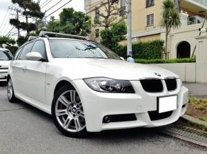 BMW320iツーリングMスポーツを高額買取りしました