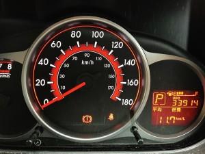 なんといっても距離が3万4000kmとデミオを高く売るにはいい感じの距離