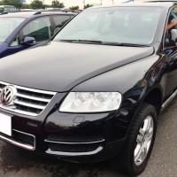 VW トゥアレグV8の売却は、藤沢・茅ヶ崎・平塚・鎌倉・逗子なら査定からすぐ買取り可能な湘南の車買取りハッピーカーズへ