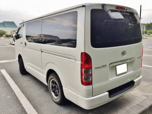 ハイエースバンの売却は、ハイエースに強い湘南の車買取りハッピーカーズへ!高額査定を約束します