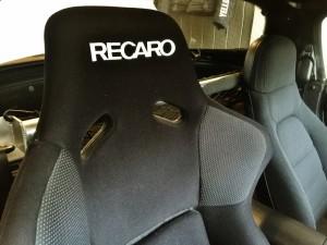 レカロのバケットシート