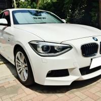 """BMW116i Mスポーツの売却は、藤沢・茅ヶ崎・平塚・鎌倉・逗子なら査定から即日現金買取り可能の""""湘南の車買取りハッピーカーズ""""へ"""