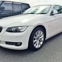 "BMW3シリーズ335iカブリオレの売却は、藤沢・茅ヶ崎・平塚・鎌倉・逗子なら査定から即日現金買取可能な""湘南の車買取ハッピーカーズ""へ"