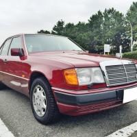 """メルセデス ベンツ W124型 ミディアムクラス 300E 4マチックの売却は、藤沢、茅ヶ崎、平塚、鎌倉、逗子なら査定から即日買取理可能な""""湘南の車買取りハッピーカーズ""""へ"""