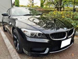 "BMW Z4 S-drive M-sportsの売却は、藤沢、茅ヶ崎、平塚、鎌倉、逗子なら査定から即日買取可能な""湘南の車買取りハッピーカーズ""へ"