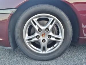 ポルシェボクスター指定タイヤ ブリジストン S-02です