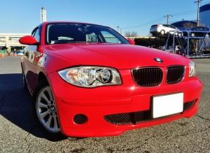 "BMW116i の売却は、藤沢、茅ヶ崎、平塚、鎌倉、逗子なら査定から即日査定可能な""湘南の車買取りハッピーカーズ""へ"