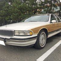 これぞアメ車、ビュイック Buick Road Masterの売却は、藤沢、茅ヶ崎、平塚、鎌倉、逗子なら15分の査定で即日買取り可能な湘南の車買取りハッピーカーズへ