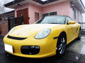 ポルシェ ボクスターの売却なら、湘南から沖縄、千葉、埼玉まで即日現金買取可能な、車買取りハッピーカーズへ
