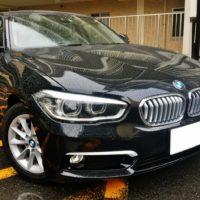 BMW118i スタイルの売却は、藤沢、茅ヶ崎、平塚、鎌倉、逗子なら査定から即日現金買取可能な湘南の車買取ハッピーカーズへ