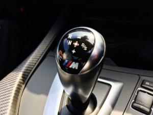 7速M DTC DRIVE LOGICを制御するレバー