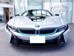 BMW i8にも試乗できちゃいます