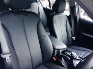 BMW118i MY STYLEのダコタレザーの革シート