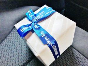 BMWの納車時のサプライズプレゼントが