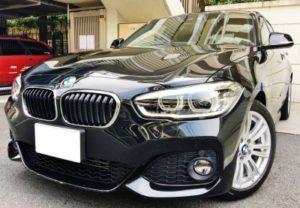 BMW118i M-sportsの納車