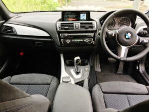 BMW118i Mスポーツの内装