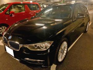 F31型 BMW320iツーリングを高額査定・高額買取