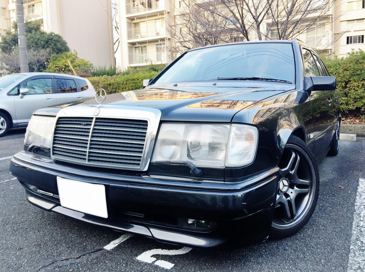 W124型メルセデスベンツ300TEの売却は藤沢・茅ヶ崎・平塚。逗子。鎌倉なら査定から即日現金買取り可能な湘南の車買取りハッピーカーズへ