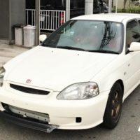 相場高騰中のEK9平成11年式ホンダシビックTypeRの売却は事故車でも高額査定と口コミで評判の車買取りハッピーカーズへ!